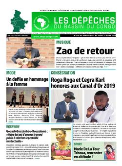 Les Dépêches de Brazzaville : Édition du 6e jour du 16 mars 2019