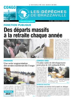 Les Dépêches de Brazzaville : Édition brazzaville du 20 mars 2019