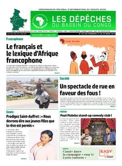 Les Dépêches de Brazzaville : Édition du 6e jour du 23 mars 2019