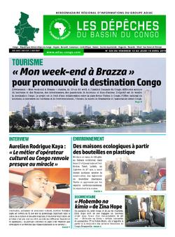 Les Dépêches de Brazzaville : Édition du 6e jour du 13 avril 2019