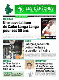 Les Dépêches de Brazzaville : Édition brazzaville du 12 juillet 2019