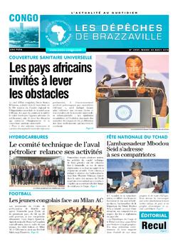 Les Dépêches de Brazzaville : Édition brazzaville du 20 août 2019