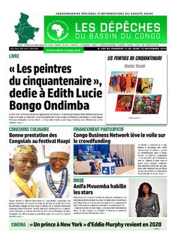 Les Dépêches de Brazzaville : Édition du 6e jour du 14 septembre 2019