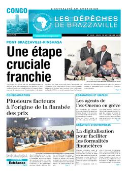 Les Dépêches de Brazzaville : Édition brazzaville du 14 novembre 2019