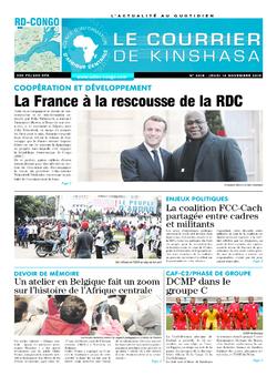 Les Dépêches de Brazzaville : Édition le courrier de kinshasa du 14 novembre 2019