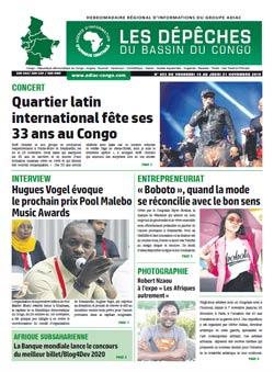 Les Dépêches de Brazzaville : Édition brazzaville du 15 novembre 2019