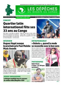 Les Dépêches de Brazzaville : Édition du 6e jour du 16 novembre 2019