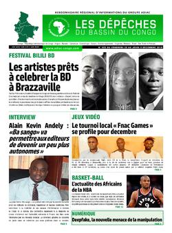 Les Dépêches de Brazzaville : Édition du 6e jour du 30 novembre 2019