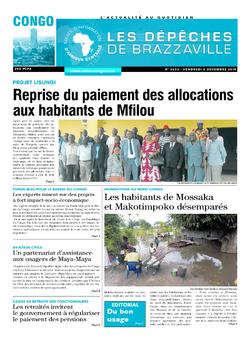 Les Dépêches de Brazzaville : Édition brazzaville du 06 décembre 2019