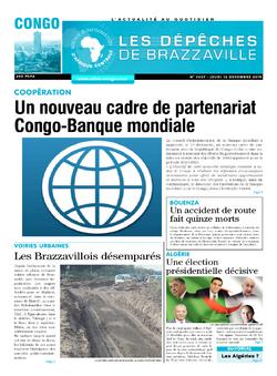 Les Dépêches de Brazzaville : Édition brazzaville du 12 décembre 2019