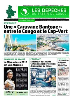 Les Dépêches de Brazzaville : Édition du 6e jour du 14 décembre 2019