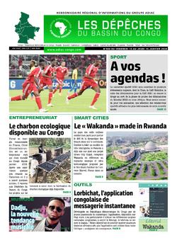 Les Dépêches de Brazzaville : Édition du 6e jour du 11 janvier 2020