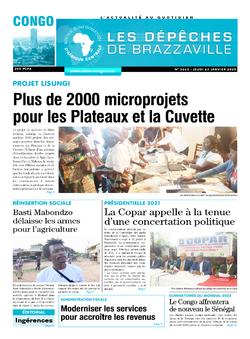 Les Dépêches de Brazzaville : Édition brazzaville du 23 janvier 2020