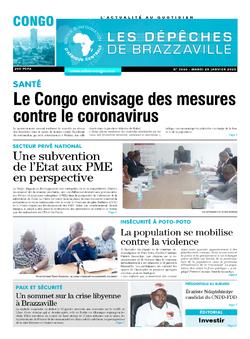Les Dépêches de Brazzaville : Édition brazzaville du 28 janvier 2020