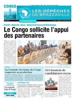 Les Dépêches de Brazzaville : Édition brazzaville du 18 février 2020