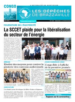Les Dépêches de Brazzaville : Édition brazzaville du 26 février 2020