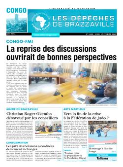 Les Dépêches de Brazzaville : Édition brazzaville du 27 février 2020