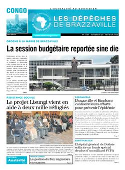 Les Dépêches de Brazzaville : Édition brazzaville du 28 février 2020