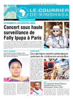 Les Dépêches de Brazzaville : Édition le courrier de kinshasa du 28 février 2020