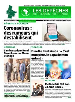 Les Dépêches de Brazzaville : Édition du 6e jour du 28 mars 2020