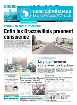 Les Dépêches de Brazzaville : Édition brazzaville du 09 avril 2020