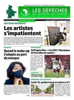 Les Dépêches de Brazzaville : Édition du 6e jour du 23 mai 2020