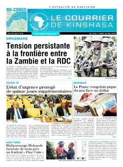 Les Dépêches de Brazzaville : Édition le courrier de kinshasa du 25 mai 2020
