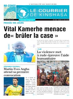 Les Dépêches de Brazzaville : Édition le courrier de kinshasa du 26 mai 2020