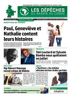Les Dépêches de Brazzaville : Édition du 6e jour du 04 juillet 2020