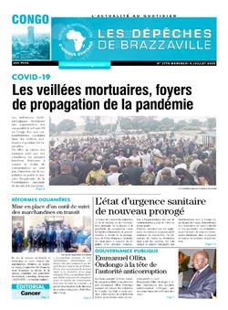 Les Dépêches de Brazzaville : Édition brazzaville du 08 juillet 2020