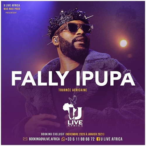 Fally Ipupa rejoint ULive Africa