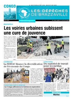 Les Dépêches de Brazzaville : Édition brazzaville du 13 juillet 2020