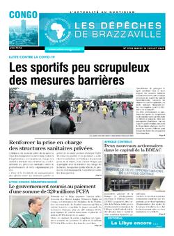 Les Dépêches de Brazzaville : Édition brazzaville du 14 juillet 2020