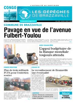 Les Dépêches de Brazzaville : Édition brazzaville du 06 août 2020