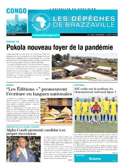 Les Dépêches de Brazzaville : Édition brazzaville du 07 août 2020