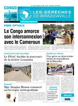 Les Dépêches de Brazzaville : Édition brazzaville du 11 août 2020