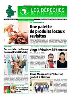 Les Dépêches de Brazzaville : Édition du 6e jour du 21 novembre 2020