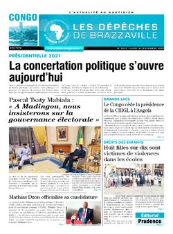 Les Dépêches de Brazzaville : Édition brazzaville du 23 novembre 2020