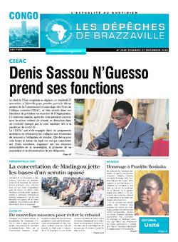 Les Dépêches de Brazzaville : Édition brazzaville du 27 novembre 2020