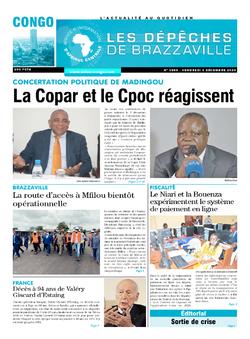 Les Dépêches de Brazzaville : Édition brazzaville du 04 décembre 2020