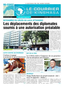 Les Dépêches de Brazzaville : Édition le courrier de kinshasa du 25 février 2021