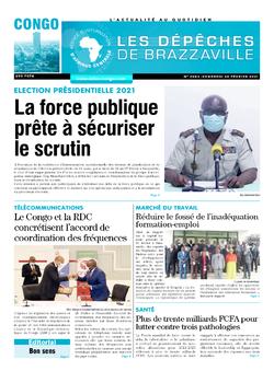 Les Dépêches de Brazzaville : Édition brazzaville du 26 février 2021