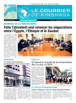Les Dépêches de Brazzaville : Édition le courrier de kinshasa du 26 février 2021