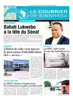 Les Dépêches de Brazzaville : Édition le courrier de kinshasa du 04 mars 2021