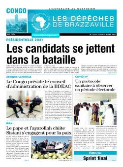 Les Dépêches de Brazzaville : Édition brazzaville du 08 mars 2021