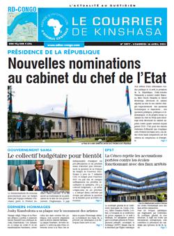 Les Dépêches de Brazzaville : Édition le courrier de kinshasa du 16 avril 2021
