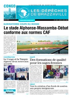 Les Dépêches de Brazzaville : Édition brazzaville du 06 mai 2021