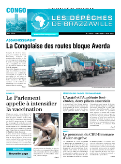Les Dépêches de Brazzaville : Édition brazzaville du 07 mai 2021