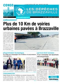 Les Dépêches de Brazzaville : Édition brazzaville du 12 mai 2021