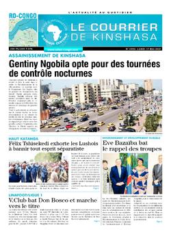 Les Dépêches de Brazzaville : Édition le courrier de kinshasa du 17 mai 2021